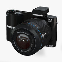 SAMSUNG Smart Camera NX1000 Black