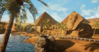 egypt desert fbx