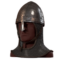 3d nose helmet v-ray