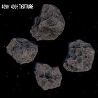 3d meteor
