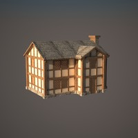 3dsmax medieval house