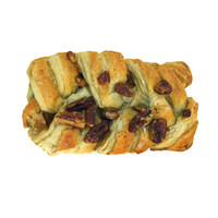 pecan maple danish pastry 3d model