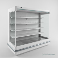 shop fridge 3d model
