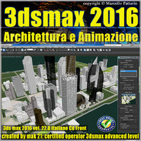3ds max 2016 Architettura e Animazione v.22 Italiano cd front
