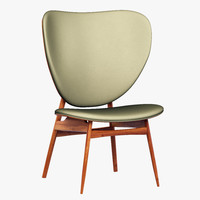 baxter alvaro chair 3d 3ds