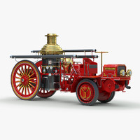 1911 christie engine 3d model