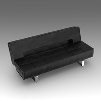 leather sofa 3d fbx