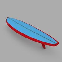 surfboard 04 3d model