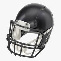 football helmet 3d c4d