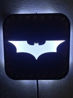 wall lamp batman 3d model