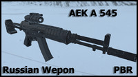 russian modern weapon aek 3ds