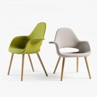 3dsmax organic chair charles