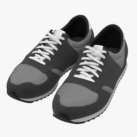 3d model running shoes