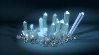 c4d crystals