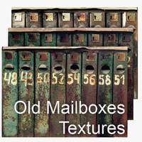 Old Mailboxes Pack