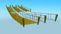 3d rope bridges packs
