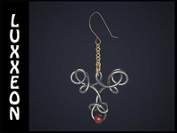 pair knotted earrings max