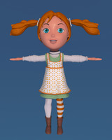 pippi longstocking 3d max