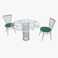Arabesque round furniture