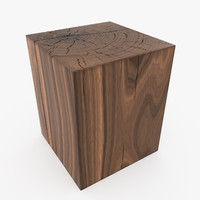 3d model riva1920 boss block table design