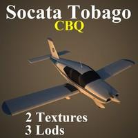 3d model socata cbq