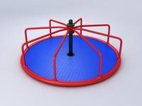 roundabout 3d fbx