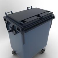 3ds max wastebasket 03
