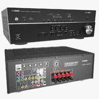 receiver yamaha rx v500d max
