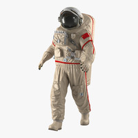 3d chinese space suit haiying model