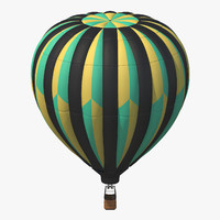 3ds max hot air balloon
