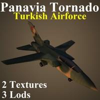 3d model panavia tornado taf