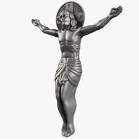 3d jesus crucifixion crucifix