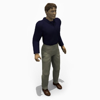 people - business male 3d 3ds