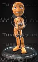 3d humanoid robot model