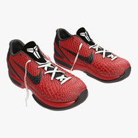 3ds max sneakers nike zoom red