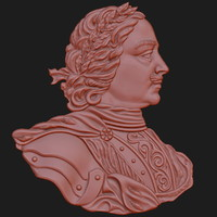 peter great relief obj