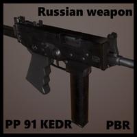 russian modern pp 91 3d model
