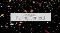 3d model confetti animation