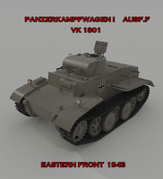 3ds max tank panzer ausf f