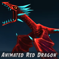 3d animation dragons model