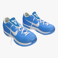 sneakers nike zoom blue 3d max