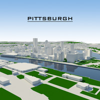 dxf pittsburgh cityscape