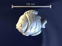 maya fish mold hand