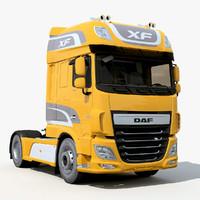 3d daf xf model