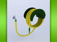 3d model of hose tap