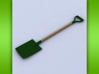 spade 3d model