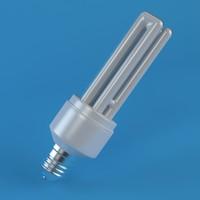 3d model energy saver bulb