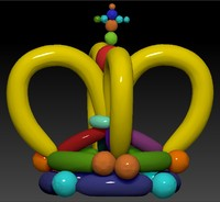 KING CROWN BALLOON