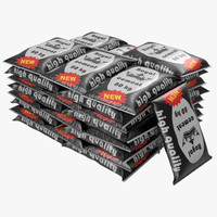 cement bags stack 3d max