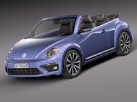 Volkswagen Beetle Convertible R-line 2015